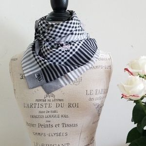 Vintage Forenza Made in Italy Gingham Scarf